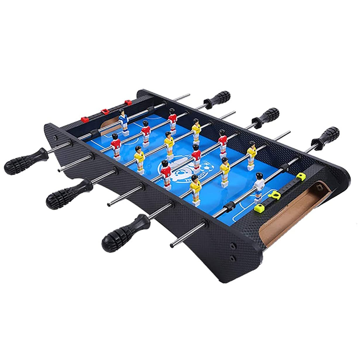司令官こねる城テーブルサッカープールテーブルゲームテーブルパズルゲーム脳ゲーム子供のおもちゃ無毒なおもちゃ4歳以上の子供用ギフト (Color : 59*28*11.5CM, Size : BLUE)