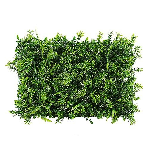 XUSHAN Siepe artificiale pianta verde, pannelli di verdura, muri vegetali, decorazione giardino, recinzione, soffitto, ristorante, parete ombreggiante, allevia stanchezza visiva, aumenta l'atmosfera