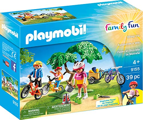 PLAYMOBIL 9155 Tiempo Libre Mountain Bike de Tour, Multicolor