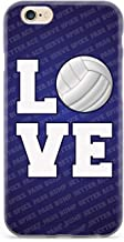 Inspired Cases - 3D Textured iPhone 6 Plus/6s Plus Case - Protective Phone Cover - Rubber Bumper Cover - Case for Apple iPhone 6 Plus/6s Plus - L.O.V.E. Volleyball Case