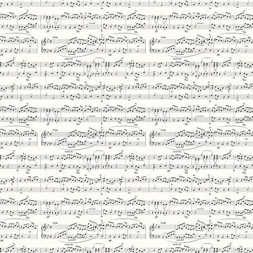 Maestro Geschenkpapier, Musiknoten.