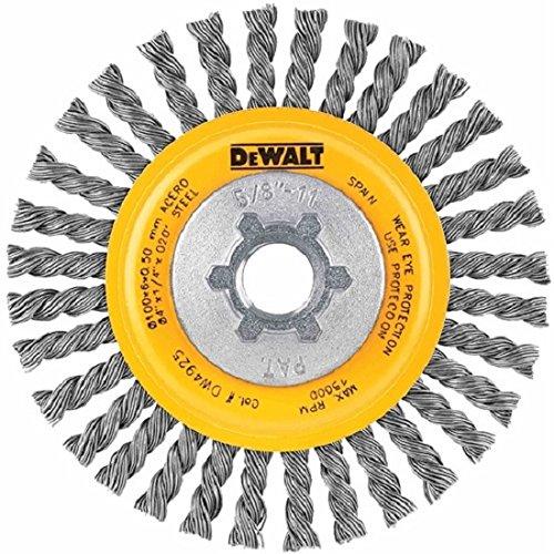 DEWALT Wire Wheel, Cable Twist, 4-Inch (DW4930)