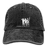 Lionel Philip Classique Sports Casual Plain Sun Hat Hommes et Femmes Vintage Réglable Denim Hat Gym Caps - Rappelez-Vous Que Tout Le Monde est déployé