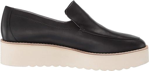 Black Foulard Leather