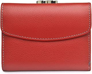 Ladies Short Section Leather Tri-fold Fashion Women's Wallet Small Coin Purse