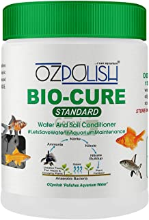 OZPOLISH Bio-Cure Standard by Aquatic Habitat -Sai Aqua World -Aquarium Bacteria Starter - Ammonia Controller -100 gm