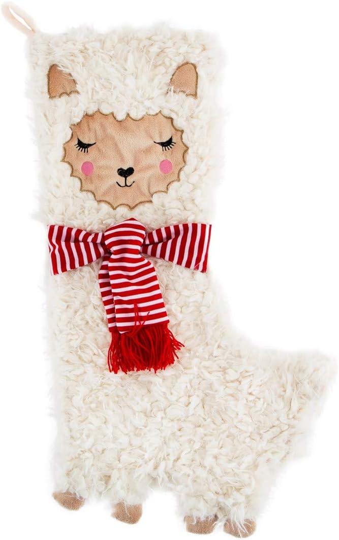 Sass Latest item Belle FA La Stocking Max 86% OFF Llama Christmas