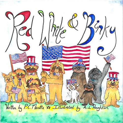 Red, White & Binky audiobook cover art