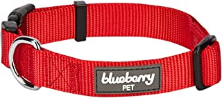Blueberry Pet 22 Colors Classic Solid Color Collection - Regular Collars, Martingale Collars, Personalized Collars or Seatbelts