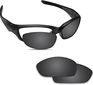 Fiskr Anti-saltwater Replacement Lenses for Oakley Straight Jacket 2007 Sunglasses - Various Colors
