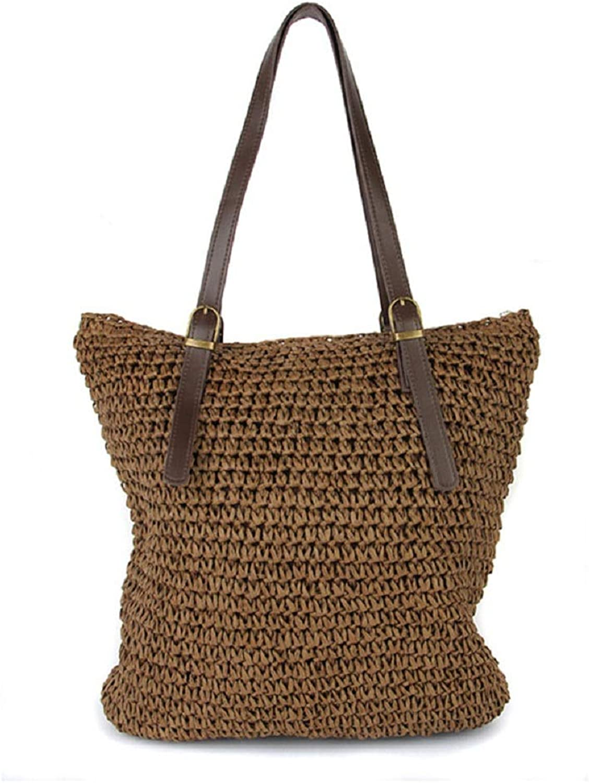 ESTHER Women Weed Beach Bag Weed Bags Designer Shoulder Bag Ladies Knitting Women Straw Hand Bags Bags