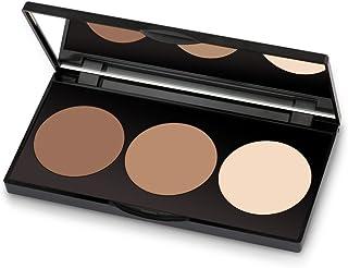 Golden Rose Long Lasting Matte Powder Contour Kit - Highlight, Bronze, Contour Set Makeup Palette