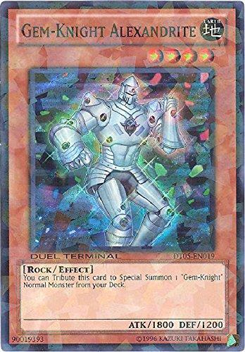 Yu-Gi-Oh! - Gem-Knight Alexandrite (DT05-EN019) - Duel Terminal 5-1st Edition - Super Rare