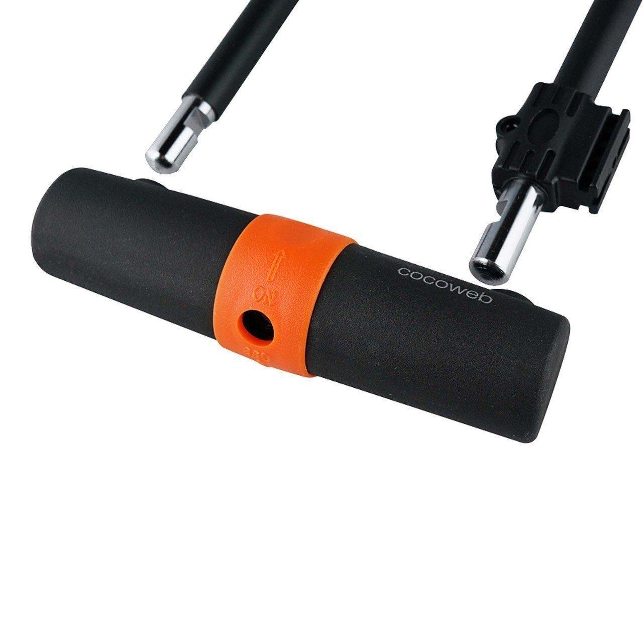Cocoweb Sport Armbar Curl U-Lock and Bike Flex Loop Cable