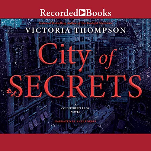 City of Secrets audiobook cover art