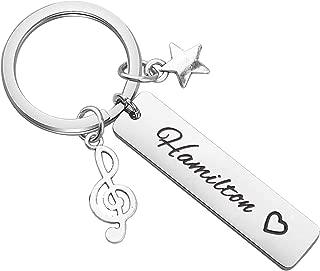 Hamilton Inspired Gift Broadway Musical Inspired Keychain Hamilton Musical Inspired Lyrics Gift