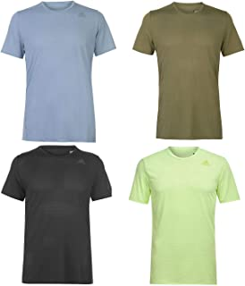 Official Brand Adidas Supernova Running T-Shirt Mens Activewear Run Fitness Top Tee Grey Small