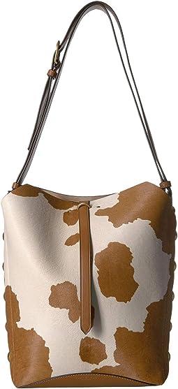 Rowan Calf Hair Bucket Bag