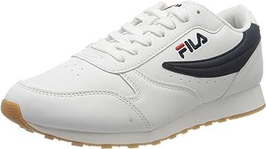 Amazon.es: zapatillas fila blancas