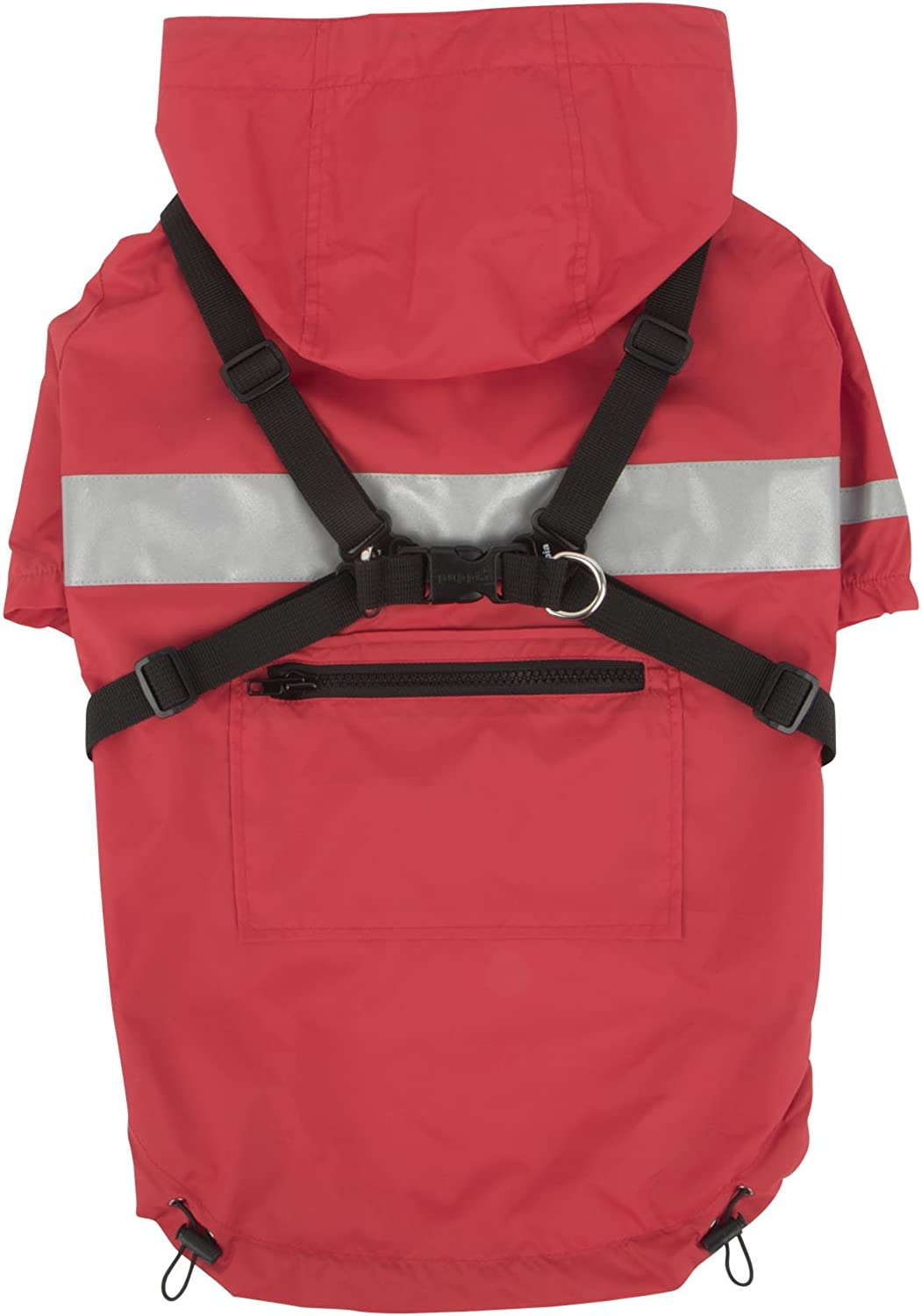Puppia PLRAJM9320RDS Red Wilderness PetCoats, Small