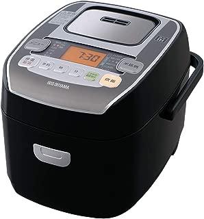 アイリスオーヤマ 圧力IH炊飯器 3合 圧力IH式 31銘柄炊き分け機能 極厚火釜 大火力 玄米 ブラック RC-PA30-B