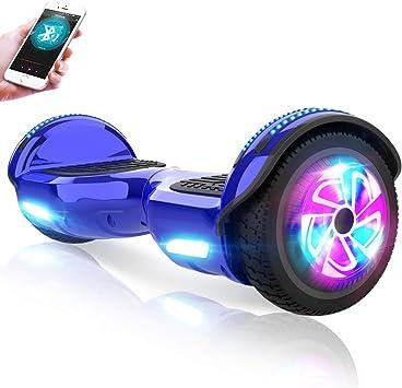 M MEGAWHEELS Hoverboard, Patinete electrico Auto Equilibrio ...