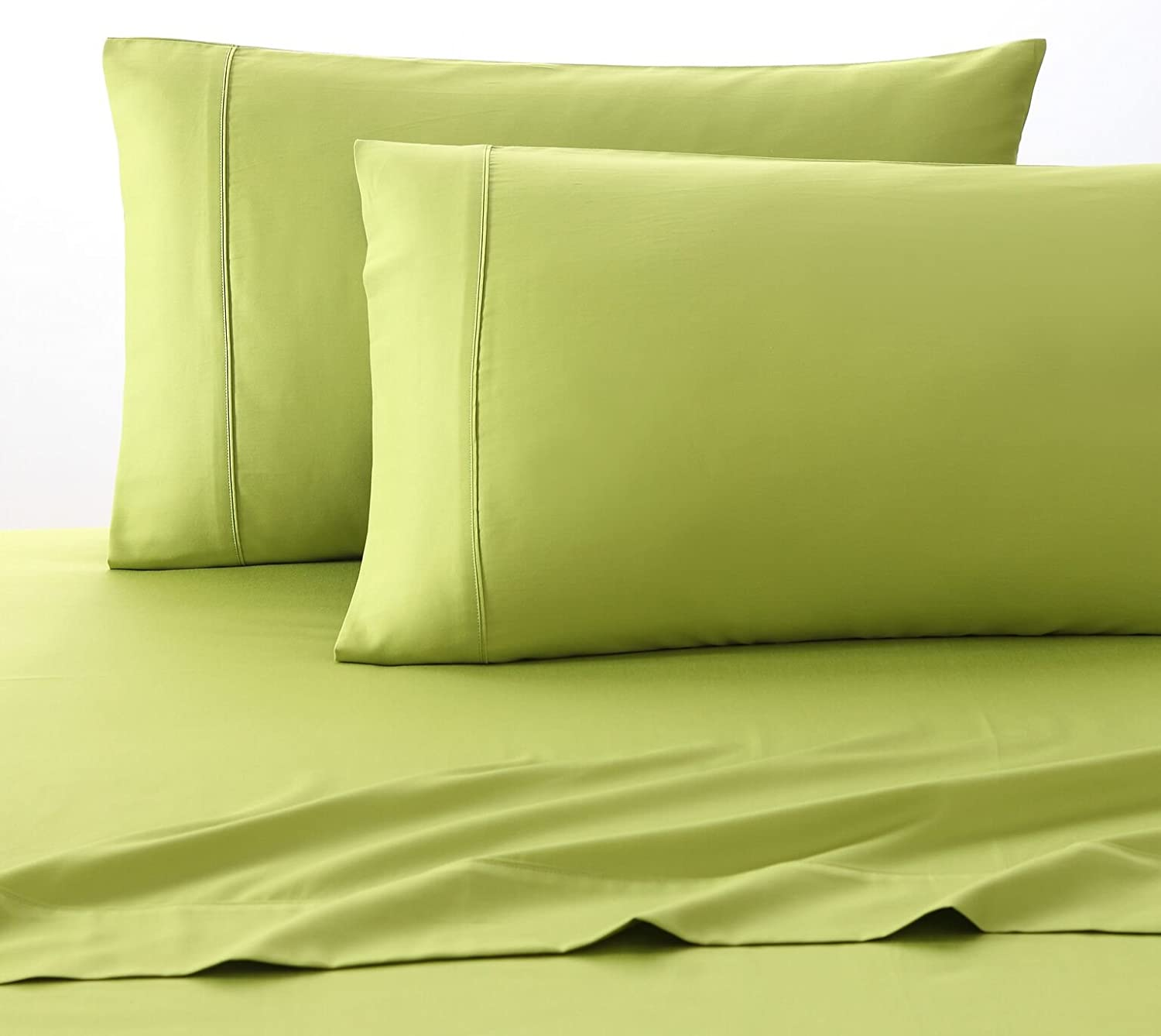 Fiesta Solid color Sheet Set, Lemongrass Green, Full