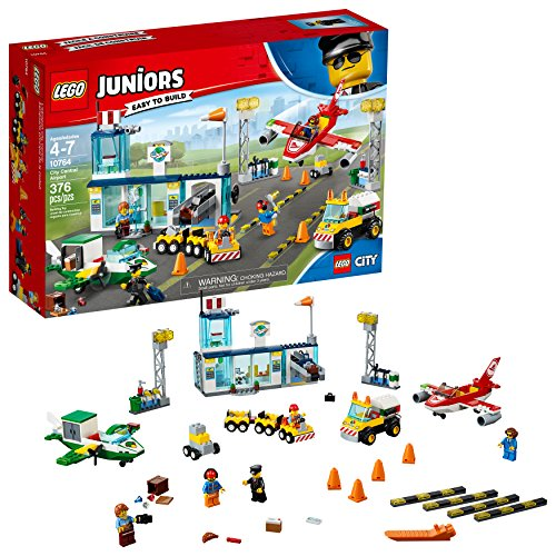 Product Image of the LEGO Juniors City Central Airport 10764 Building Kit (376 Pieces) (Discontinued...