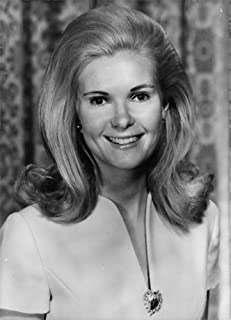 Vintage photo of Portrait of Tricia Nixon Cox.