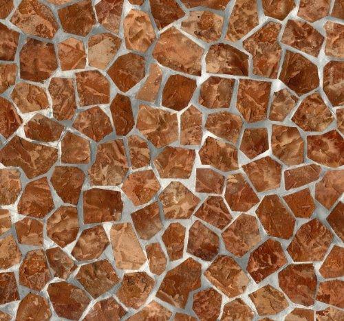 Alkor Sticky Back Plastic (zelfklevende vinyl film) Tegels Becky Brick (Mozaïek) 45cm x 2m 380-0009