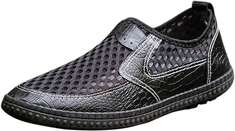 USYFAKGH Dallas Mall Cheap mail order shopping Mens Walking Shoes Fashion Men Mesh B Casual Sport Lazy