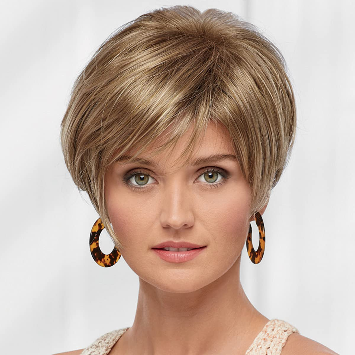 Betsy WhisperLite Wig by Paula A surprise price is realized Young NEW Pixie Asymm Chic - with