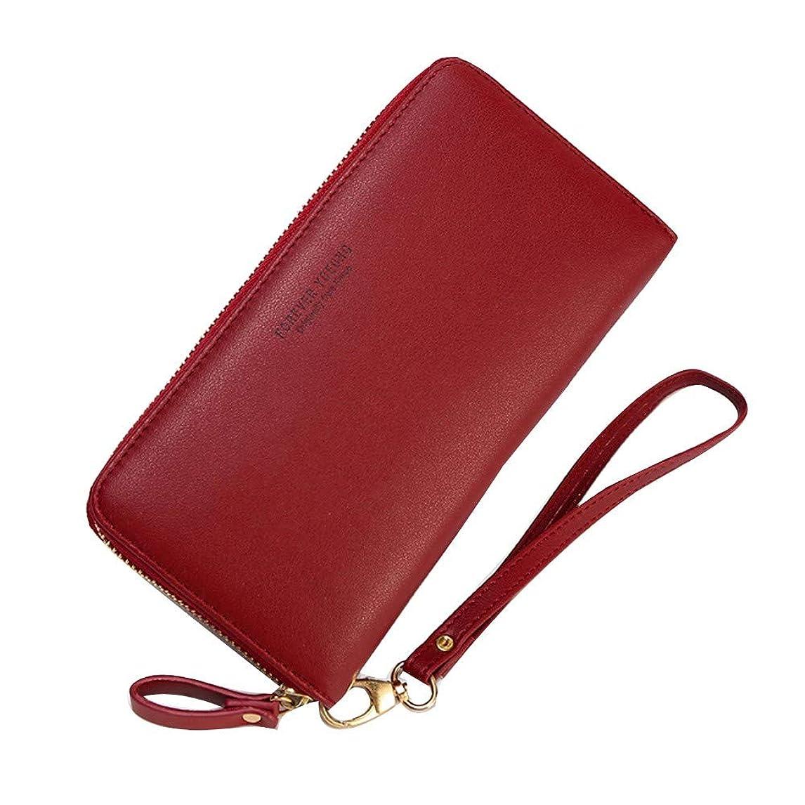 拮抗するちょうつがい前提Wolkaibi コインケース 革 レザー スマート 財布 薄型 大容量 カード収納 パスケースにも/ギフトボックスセット 小銭入れ 本革 大容量コインケース ツインファスナー 財布 本革コインケース 学生 韓国ファッション