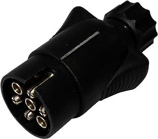 Aerzetix stekker 7-polige stekker trekhaak 7-polig 12 V 10 mm C12373 koppeling kabelboom achterlichten remlichten