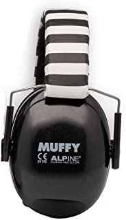 Alpine Muffy | Hearing Protection Foldable Soft Headband Earmuffs Black