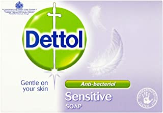 Dettol Antibacterial Soap Bar Sensitive (100g)
