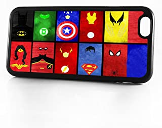 (For iPhone 8 Plus/iPhone 7 Plus) Phone Case Back Cover - HOT10874 Superhero Batman Spiderman Wonderwoman Superman HOT10874