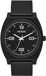 nixon men's time teller p midnight ano watch