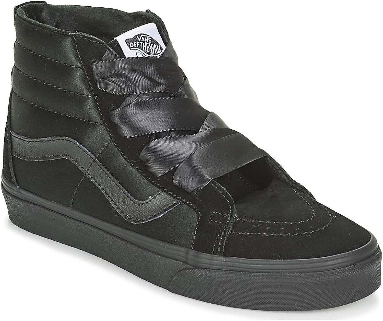 Vans Sk8 -Hi -Hi -Hi kvinnor skor svart  bra erbjudanden