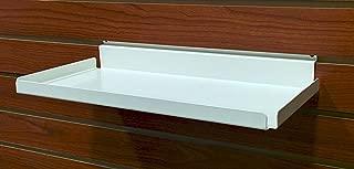 Metal Slatwall Shelf w/ .5