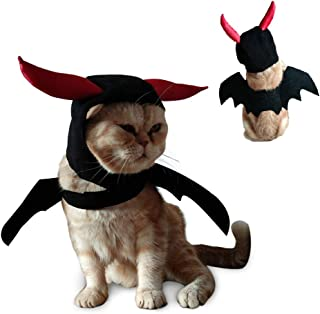 ULIGOTA Dog Costume Cute Bat Wings Costume for Dogs & Cat Kitten, Cute Dog Costume for Party Decoration