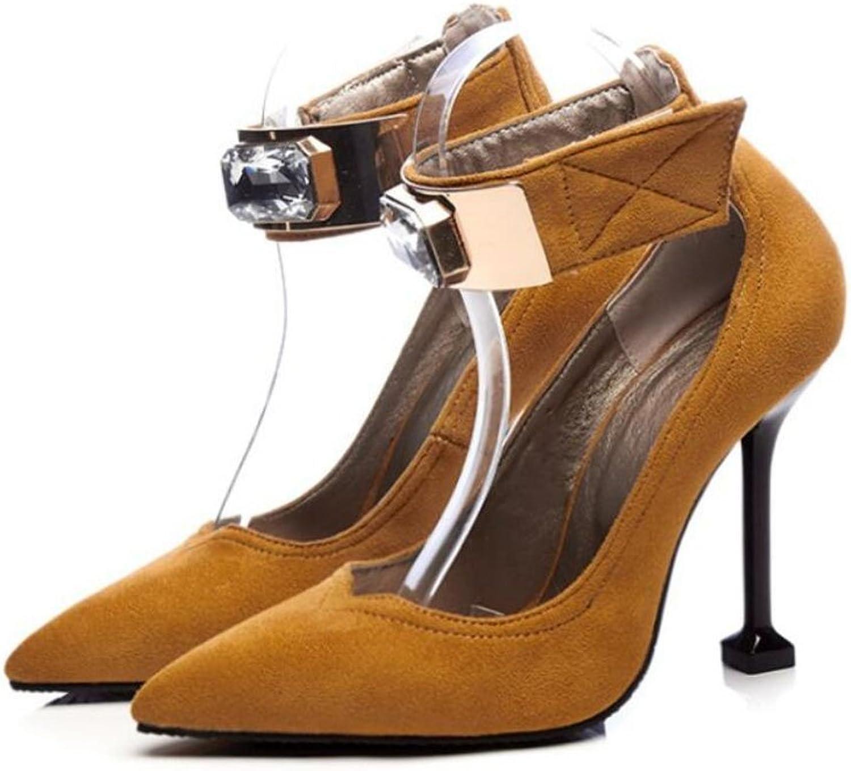 GAOLIXIA Frauen Mode Pumps Frühling Sommer Spitzen Ankle Strap Schuhe High Heels Strass Gericht Schuhe Mary Jane Heels Große Größe 34-43 B07CVVG8GS  Direktgeschäft