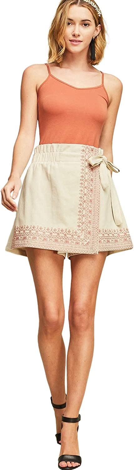 Entro Women's Super beauty product restock quality top! High Waist Wrap Shorts Skort In a popularity