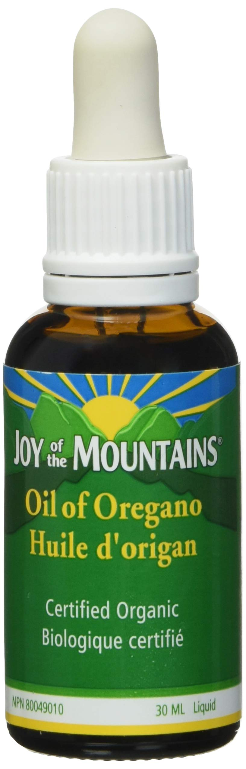 Oregano Oil 30ml Certified Organic