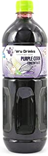 Peru Drinks - Natural Peruvian Pure Concentrate Fruit Juice - Purple Corn - Yields 1.3 Gallons of Juice