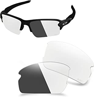ANSI Z87.1 Replacement Lenses Compatible with Oakley Flak 2.0 XL OO9188 Sunglass