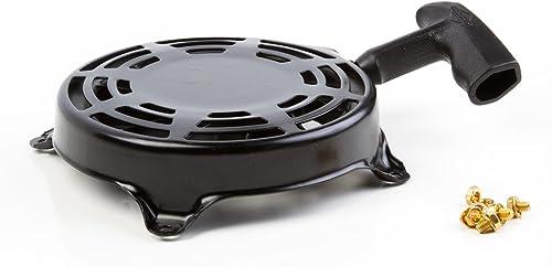 2021 Briggs & online sale Stratton 497680 popular Rewind Starter , Black online