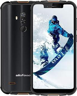 """ロック解除された頑丈な携帯電話、Ulefone Armor 5S IP68 Dropproof防水スマートフォン、Octa-Core 4GB + 64GB ROM 5.85""""FHD +スクリーンAndroid 9.0 5000mAhバッテリーグ..."""