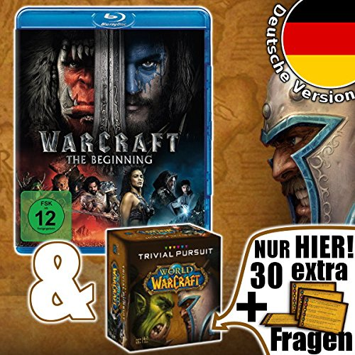 Trivial Pursuit World of Warcraft inkl. extra Fragen und Blu-Ray Warcraft The Beginning deutsch