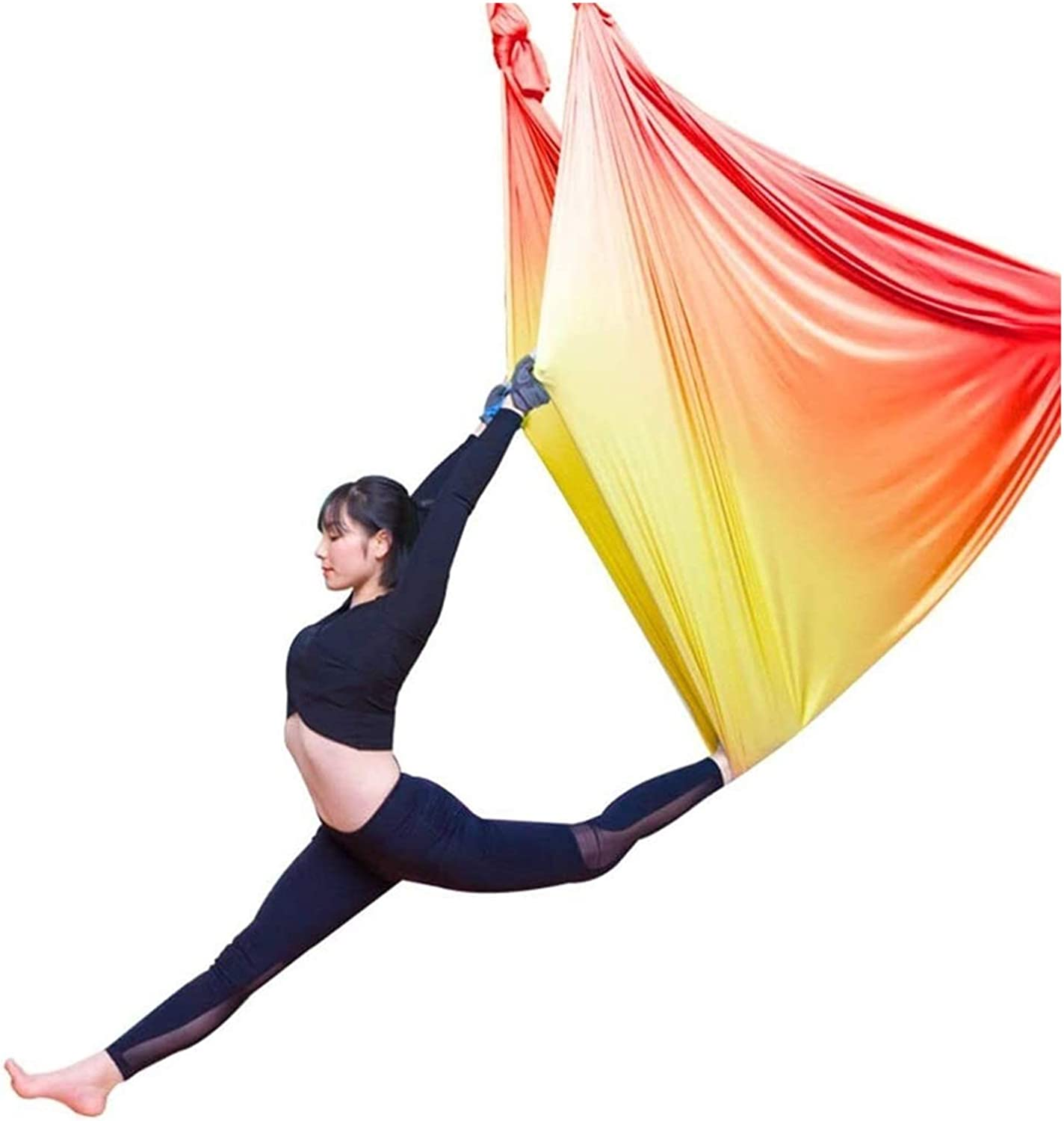 XUNMAIFLB Sensory Indoor Large discharge sale Aerial Yoga Elastic Max 76% OFF Swing Set H Therapy